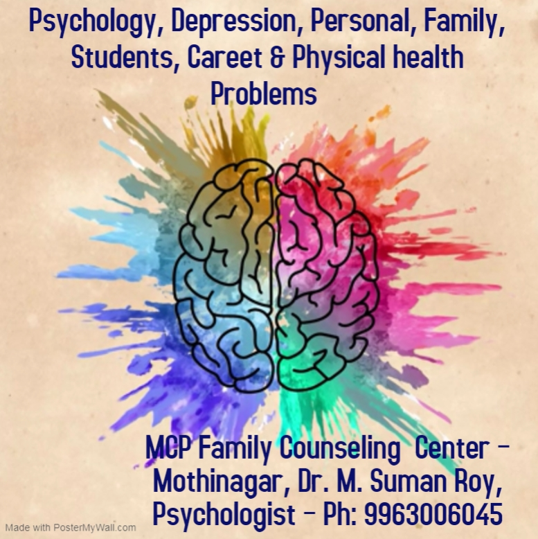 Psychology, Depression, Personal, Family, Students, Careet & Physical health Problems